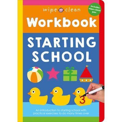 D186 Wipe Clean Workbook: Starting School