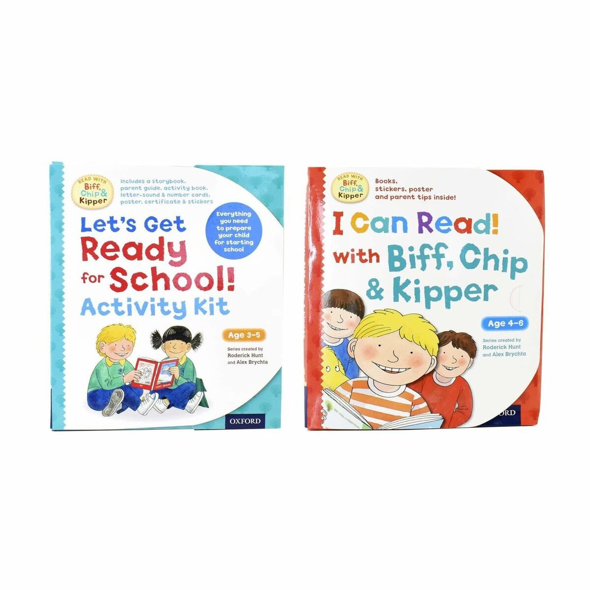 6P28 Read with Biff Chip and Kipper Activity Kit 2 packs- Ages 0-5 - Paperback - Roderick Hunt