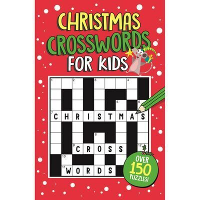 E114 100 The Kids' Book of Christmas Crosswords