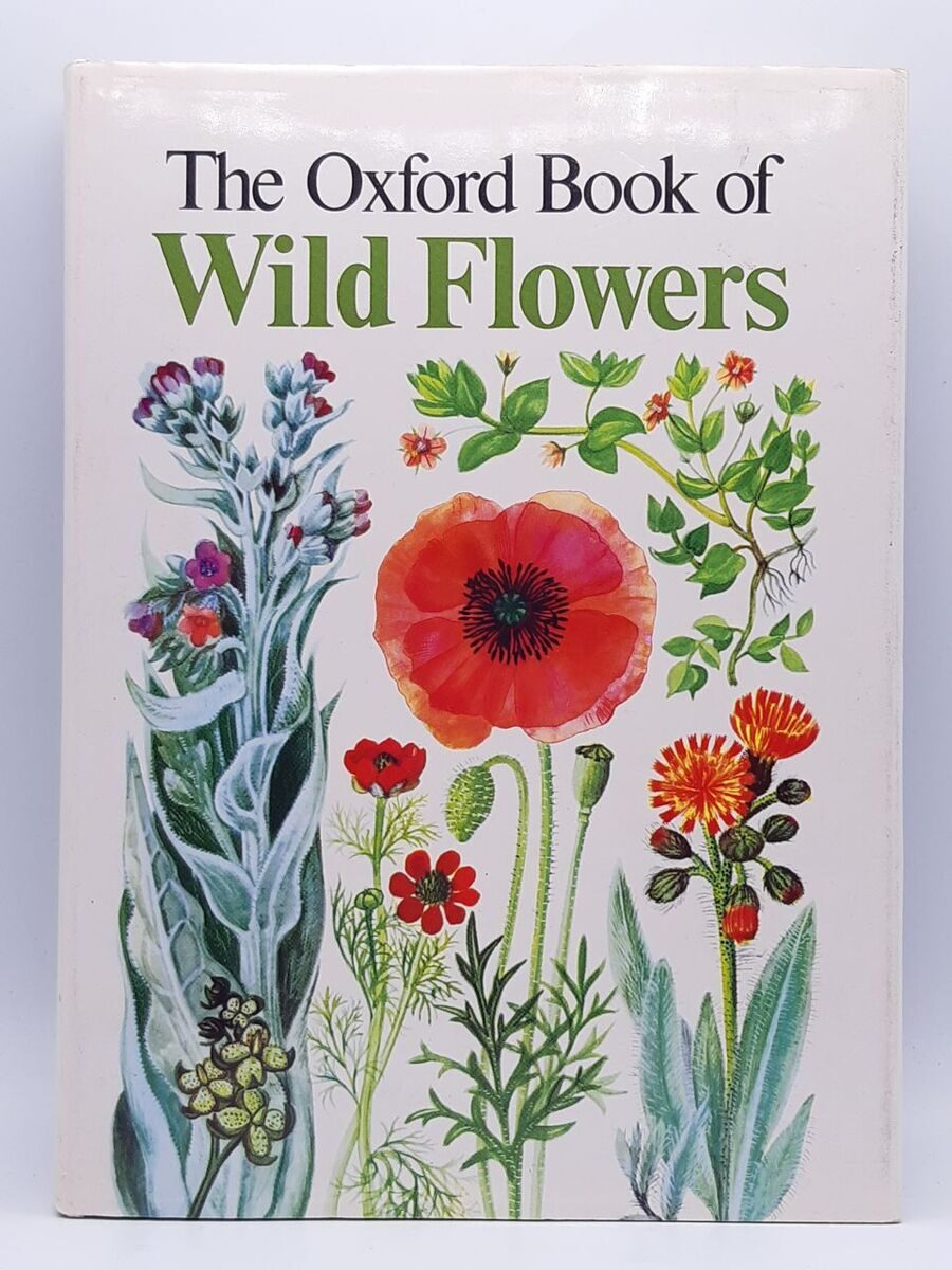 5P70 The Oxford Book of Wild Flowers, Ary and M.Gregory