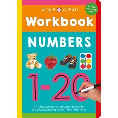 D185 Wipe Clean Workbook: Numbers