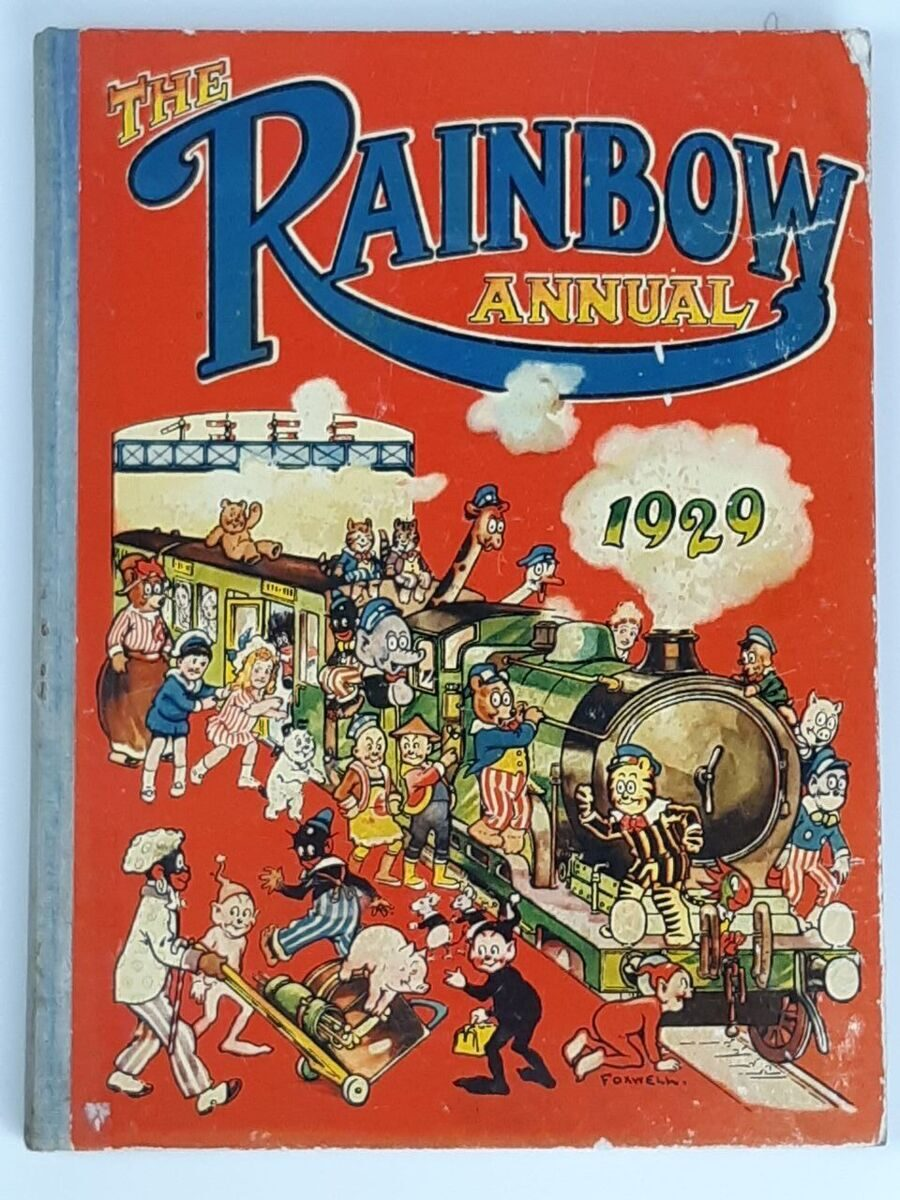 Р17 Сборник The Rainbow Annual, 1929 год, Англия