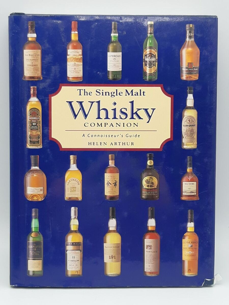 5P18 The single malt whisky companion, Helen Arthur