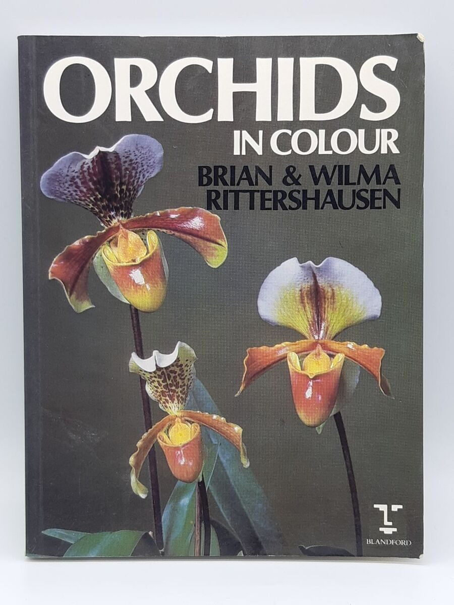 5P17  Orchids in colour, Brian and Wilma Rittershausen