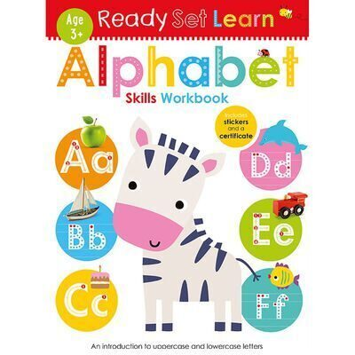 D194 Ready Set Learn: Alphabet Skills Workbook