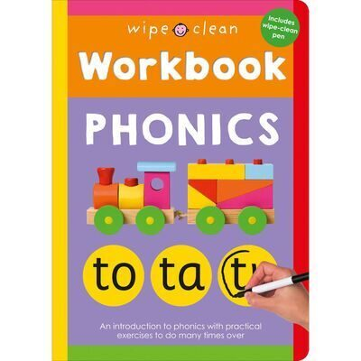 D188 Wipe Clean Workbook: Phonics