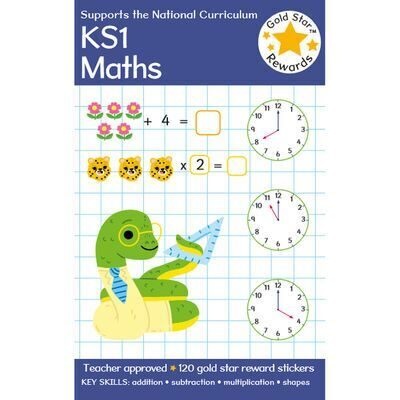 D243  Gold Star Rewards KS1 Maths: Ages 5-7