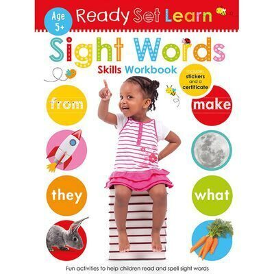 D241 Ready Set Learn: Sight Words Skills Workbook