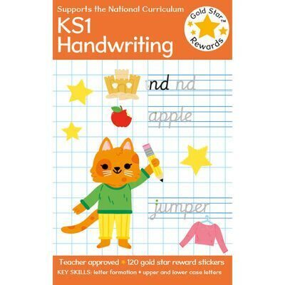 D244  Gold Star Rewards Handwriting: Ages 5-7