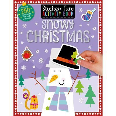 E74 Snowy Christmas: Sticker Fun Activity Book