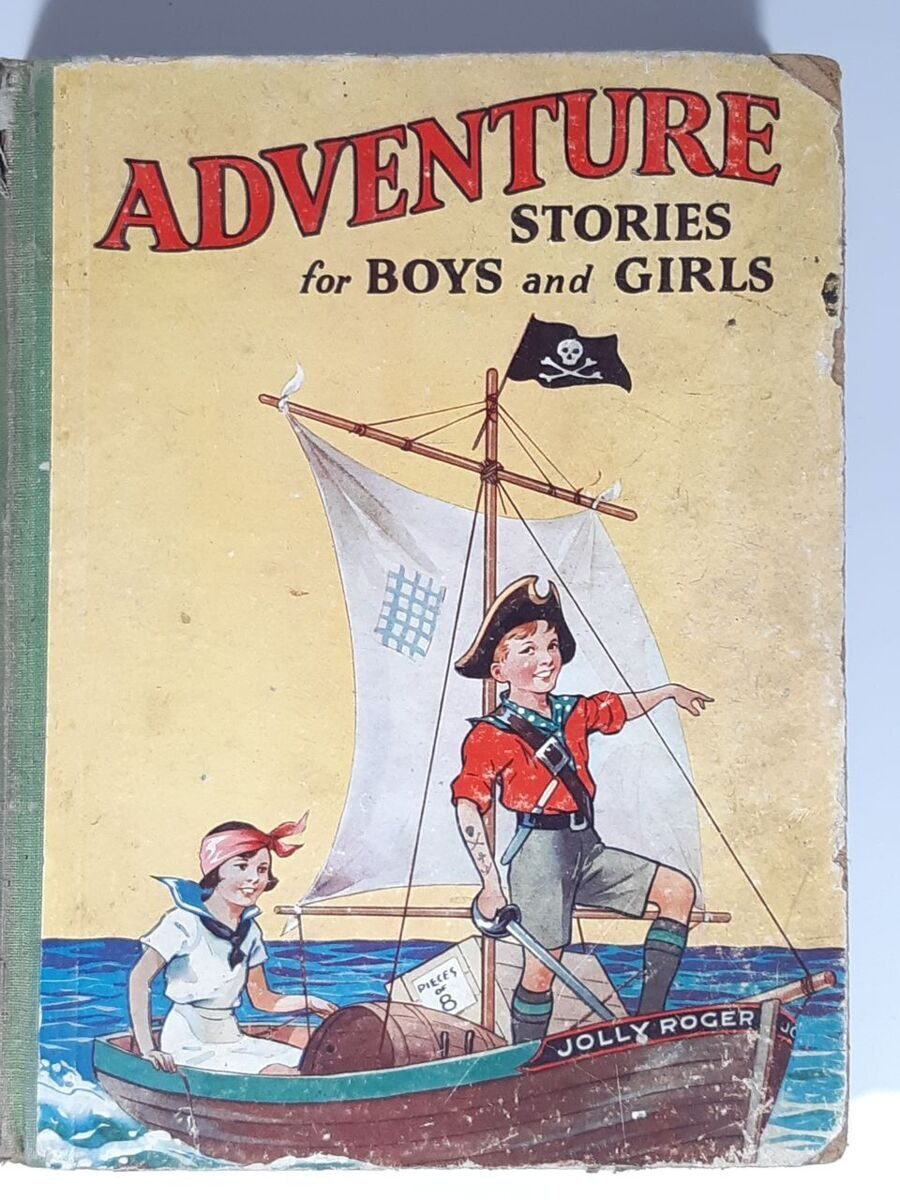 B18 Adventure stories  for boys and girls. 1940-50 , England