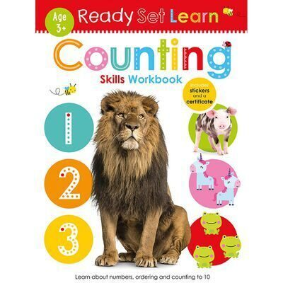D199  Ready Set Learn: Counting Skills Workbook
