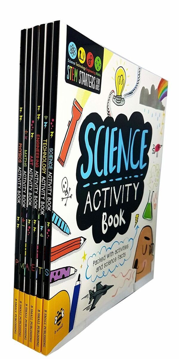 4P32 STEM Starters 6 Activity Books Set Technology Science Engineering Maths