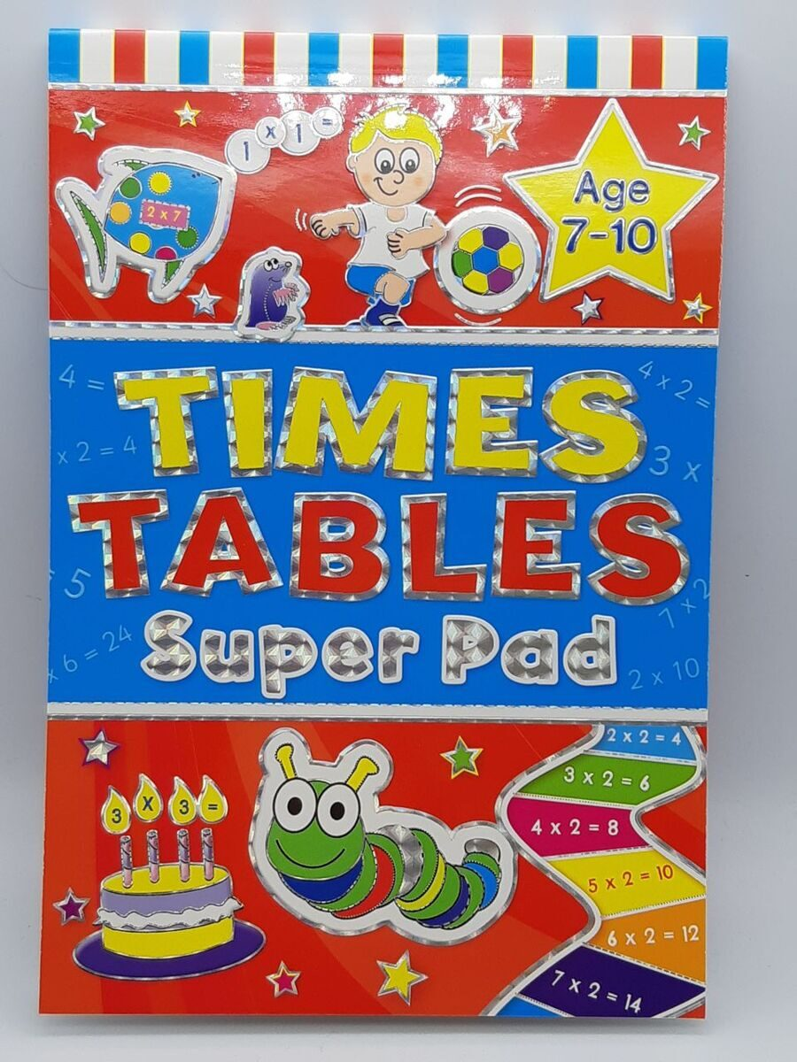 D250   Times Table Super Pad