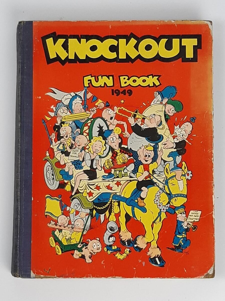 Р18 Сборник Knockout. Fun Book  Annual, 1949 год, Англия