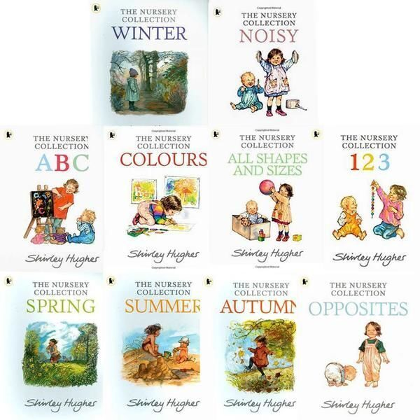 E130 The Nursery Collection 10 Book Set Collection By Shirley Hughes