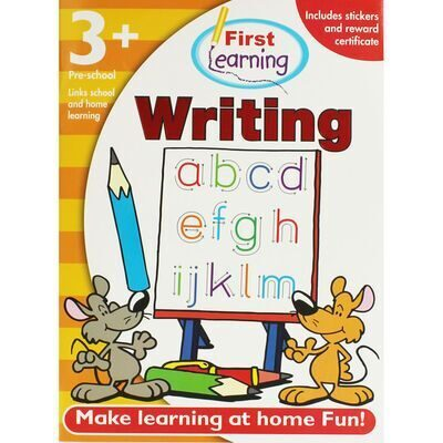 D196 First Learning Workbooks: Writing