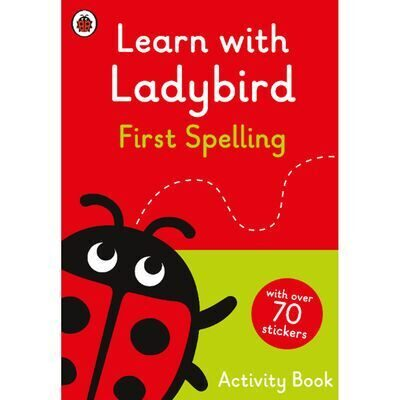 D247  Learn With Ladybird: First Spelling Activity Book