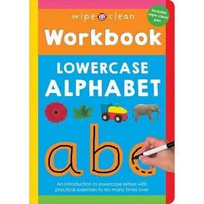 D191 Wipe Clean Workbook: Lowercase Alphabet