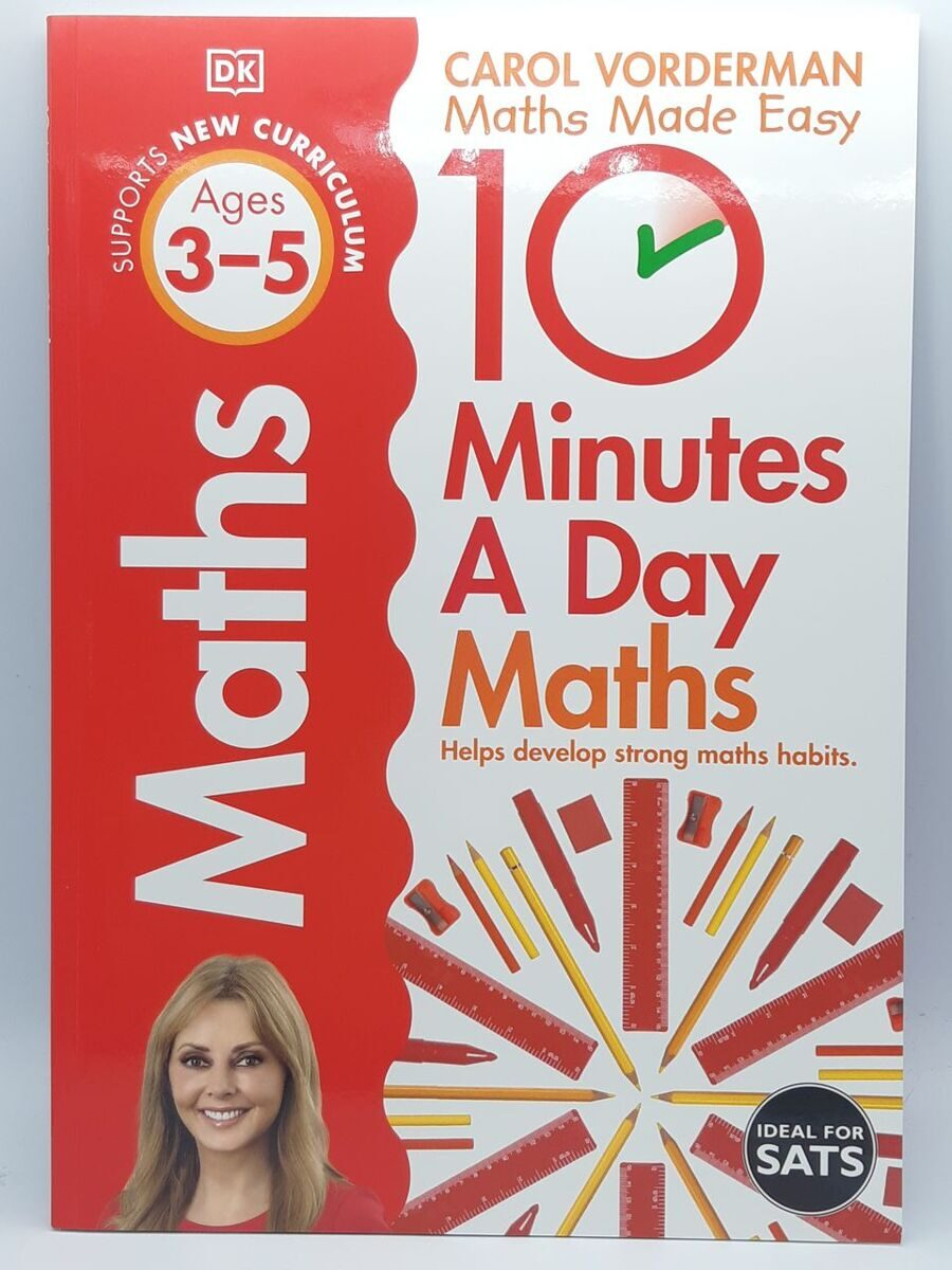 6P27 10 Minutes a Day Maths: Ages 3-5