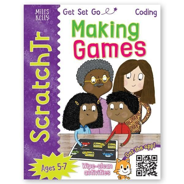 E107 Get Set Go Coding: Making Games (ScratchJr) , Miles Kelly Publishing