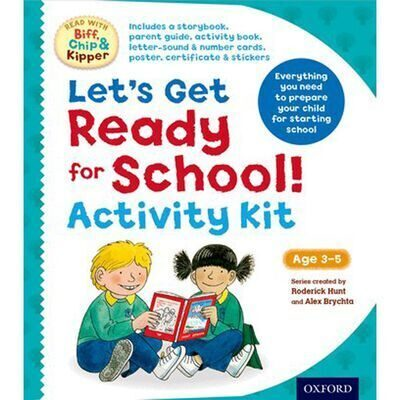 D197  Let's Get Ready For School Kit