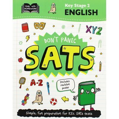 6P25 Don't Panic SATs: Key Stage 2 English