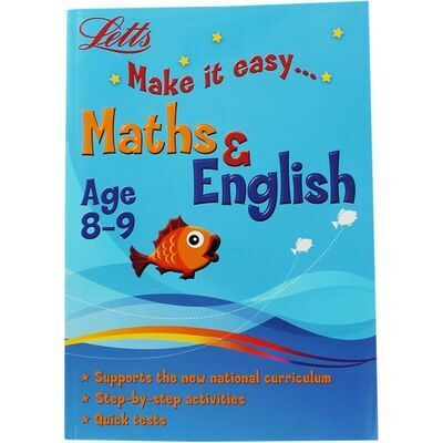 D240  Letts Maths and English: Ages 8-9