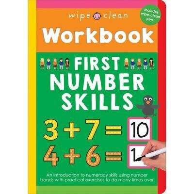 D189 Wipe Clean Workbook: First Number Skills
