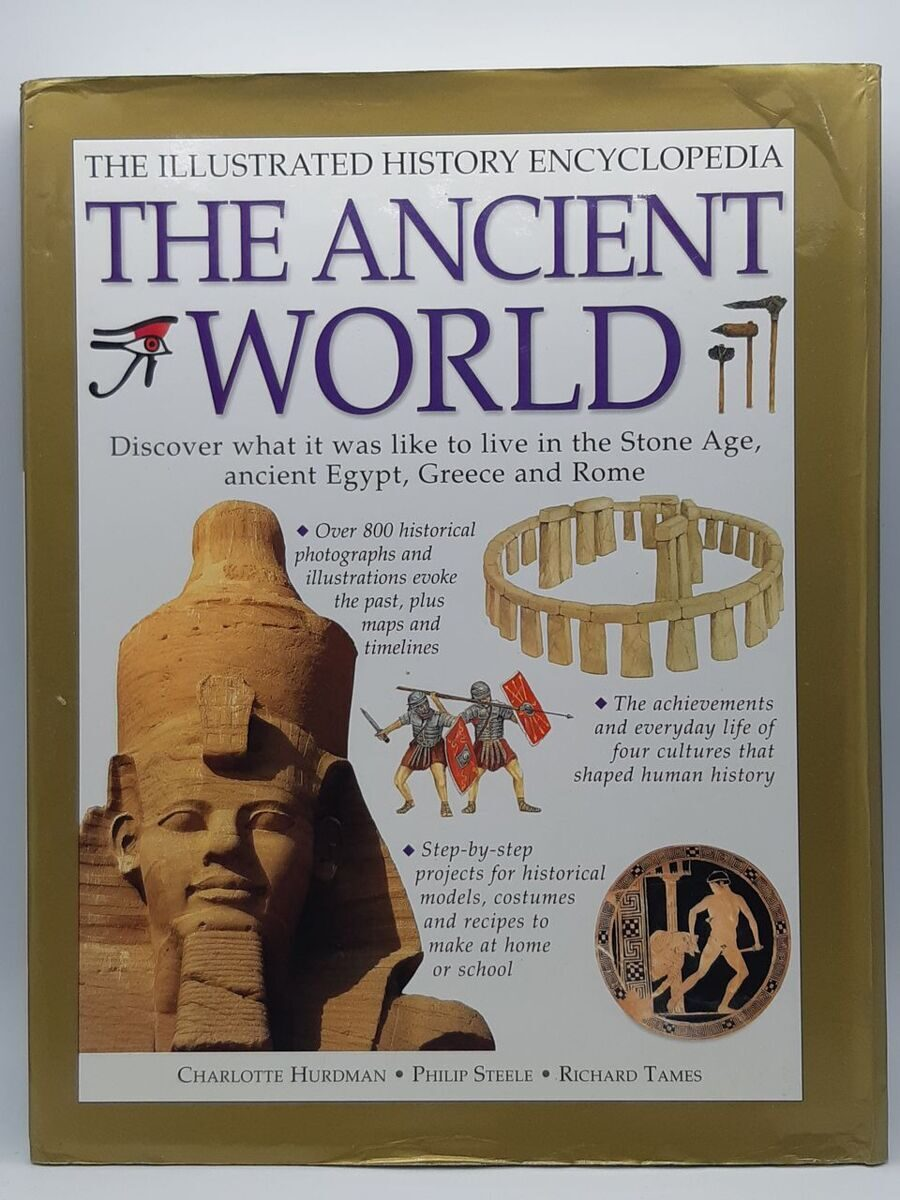 5P51 The Ancient World, Ch.Hurdman, Philip Steele, Richard Tames