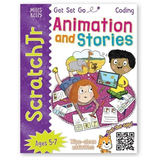 E108 Get Set Go Coding: Animation and Stories (ScratchJr) , Miles Kelly Publishing