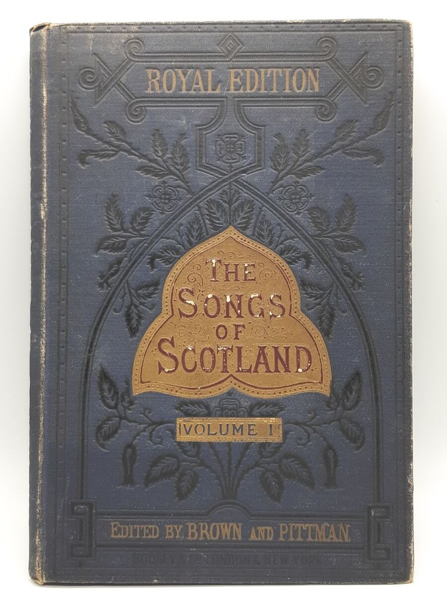 5P63 The Songs of Scotland, Vol.1, 1917 год