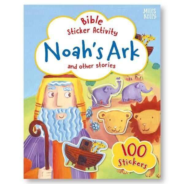 E128 Bible Sticker Activity: Noah's Ark