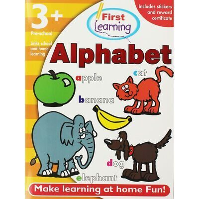 D205 First Learning Alphabet Workbook: Pre-School