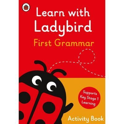 D248 Learn With Ladybird: First Grammar Activity Book