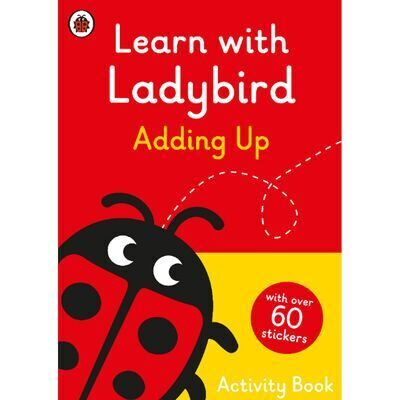 D245  Learn With Ladybird: Adding Up Activity Book