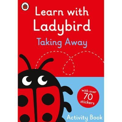 D246  Learn With Ladybird: Taking Away Activity Book