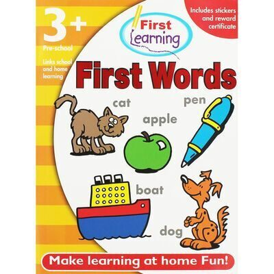 D195 First Learning Workbook: First Words