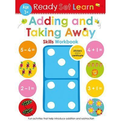 D200  Ready Set Learn: Adding and Taking Away Skills Workbook